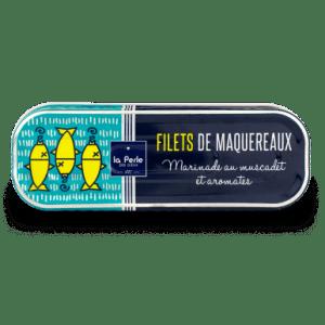maquereau muscadet - La Perle des Dieux - Filets de maquereaux au Muscadet 176 gr