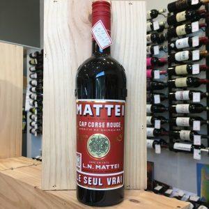 mattei rouge rotated - Mattei Cap Corse rouge - 75 cl