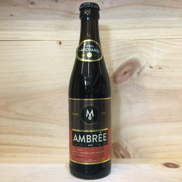 michard ambree rotated - Michard - bière ambrée 33 cl