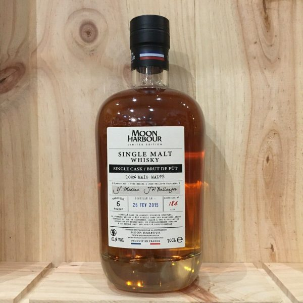 moon harbour mais rotated - Moon Harbour - 100% maïs malté - Single Malt Whisky 70cl