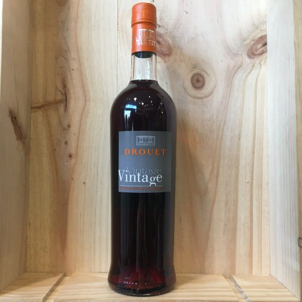 pineau drouet 17.5 rotated - Pineau des Charentes rosé Drouet - 75 cl
