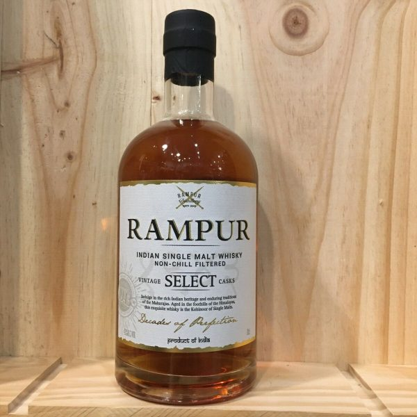 rampur rotated - Rampur 70cl - Indian Single Malt Whisky