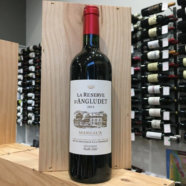 res angludet rotated - La Réserve d'Angludet 2015 - Margaux 75cl