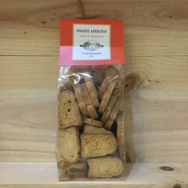 toast nature rotated - La Chanteracoise - Toasts nature - 140 gr