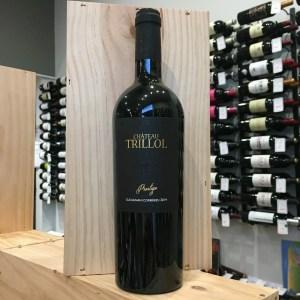trillol noir rotated - Château Trillol Prestige 2014 - Corbières 75cl