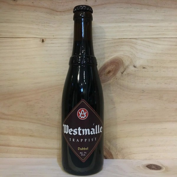 westmalle double 1 rotated - Westmalle double 33 cl - bière brune