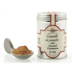 cannelle en poudre 60 g terre exotique - Cannelle en poudre 60 gr