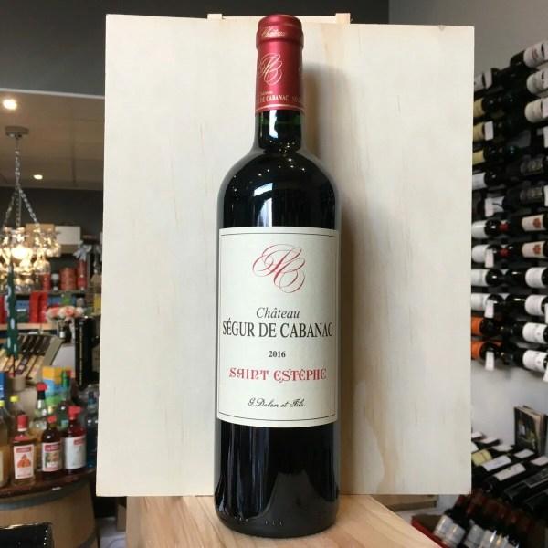 segur cabanac 2016 rotated - Château Ségur de Cabanac 2016 75 cl - Saint Estèphe