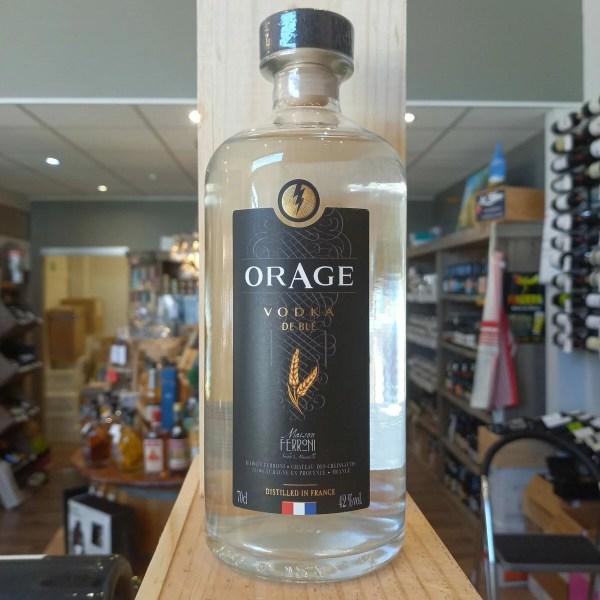 ORAGE rotated - Vodka Orage 70 cl