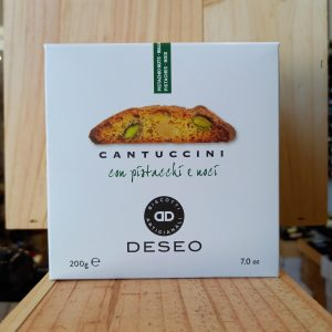 CANTUCCINI rotated - Cantuccini Deseo pistache et noix 200 gr