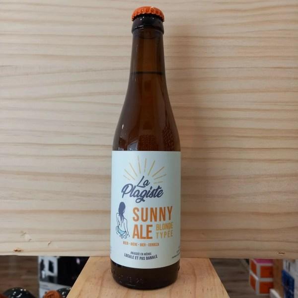 sunny si 2 1 - Sunny Ale 33 cl - La Plagiste - bière blonde