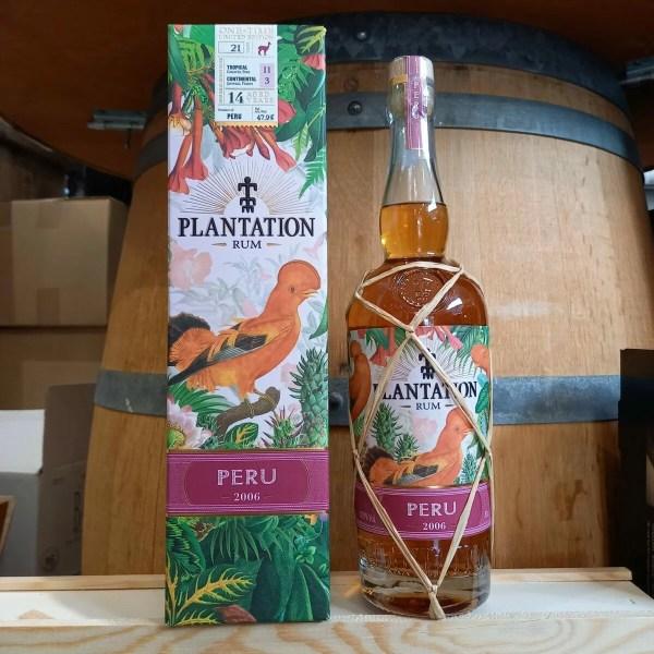 plantation perou SL rotated - Rhum Plantation Peru 2006 70 cl - Pérou