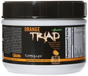 Controlled Labs Orange Triad + Greens - Ultimate Multivitamin / Joint support