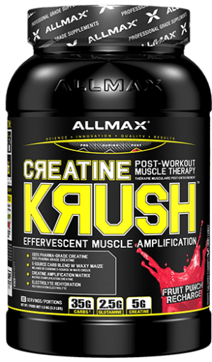 Allmax - Creatine KRUSH - Effervescent Post-Workout Muscle Gainer 1.5kg
