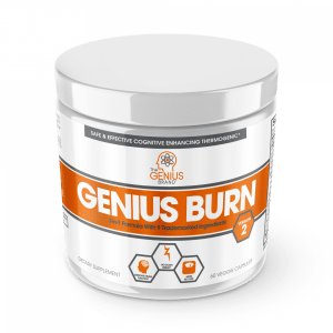 The Genius Brand GENIUS BURN Fat Burning Formula 60 Caps