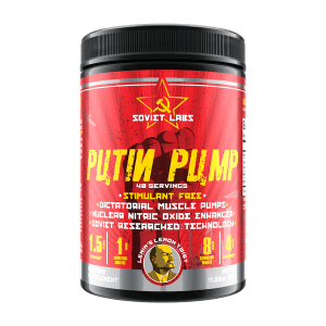 Soviet Labs PUTIN PUMP - Non Stim Pump Pre-Workout
