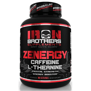 Iron Brothers ZENERGY Smart Caffeine Pills