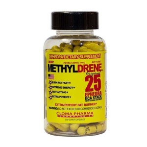Cloma Pharma METHYLDRENE 25 Original Fat Burner