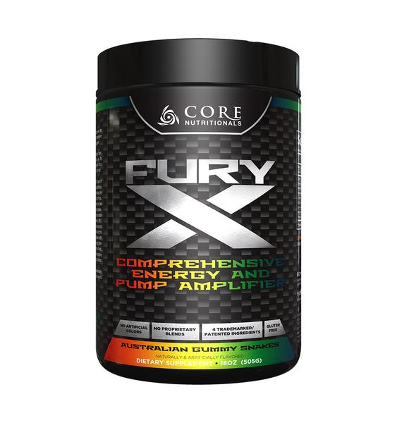 Core Nutritionals FURY X Pre -Workout + Pump