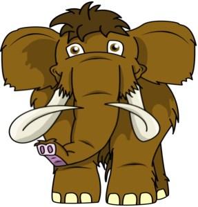 Happy mammoth