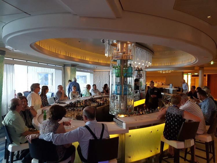 Celebrity Silhouette bar