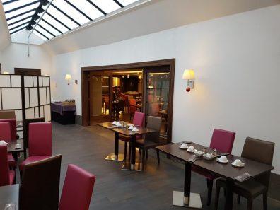 Marivaux hotel breakfast