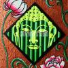Flurescent Buddha1