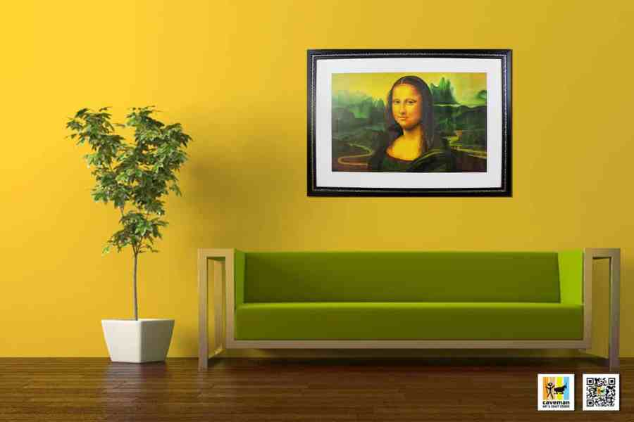 Monalisa oil painting collections