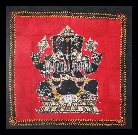 Vinayagar Batik Painting For Sale Online