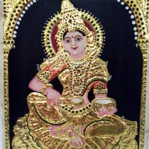 Goddess Annalakshmi Tanjore Painting Sale