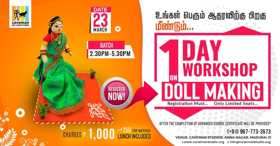 Doll Making Workshop Training