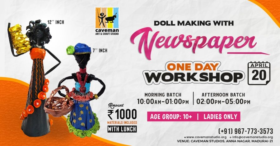 Doll Making With Newspaper