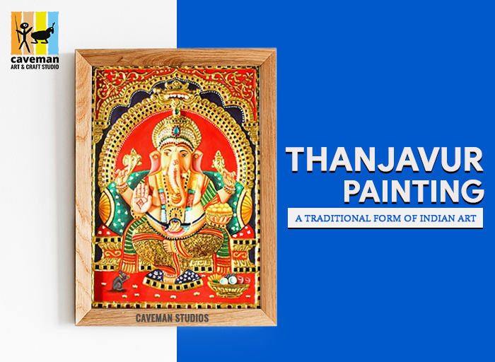 Thanjavur Painting - Caveman Art &Amp; Craft Studios
