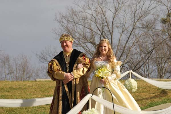 Themed Wedding at Cavender Castle