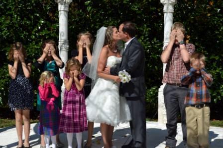 family focused north ga weddings at Cavender Castle