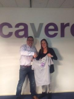 Per 1 april komen Nicole en Bouke het Cavero-team versterken.