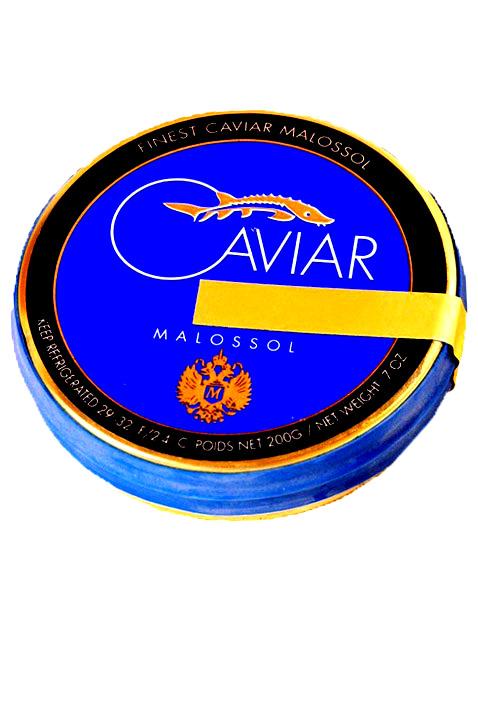 Caviar noir d'esturgeon 1 kg
