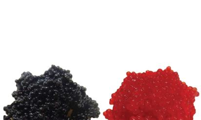 Image result for black and red lumpfish roe
