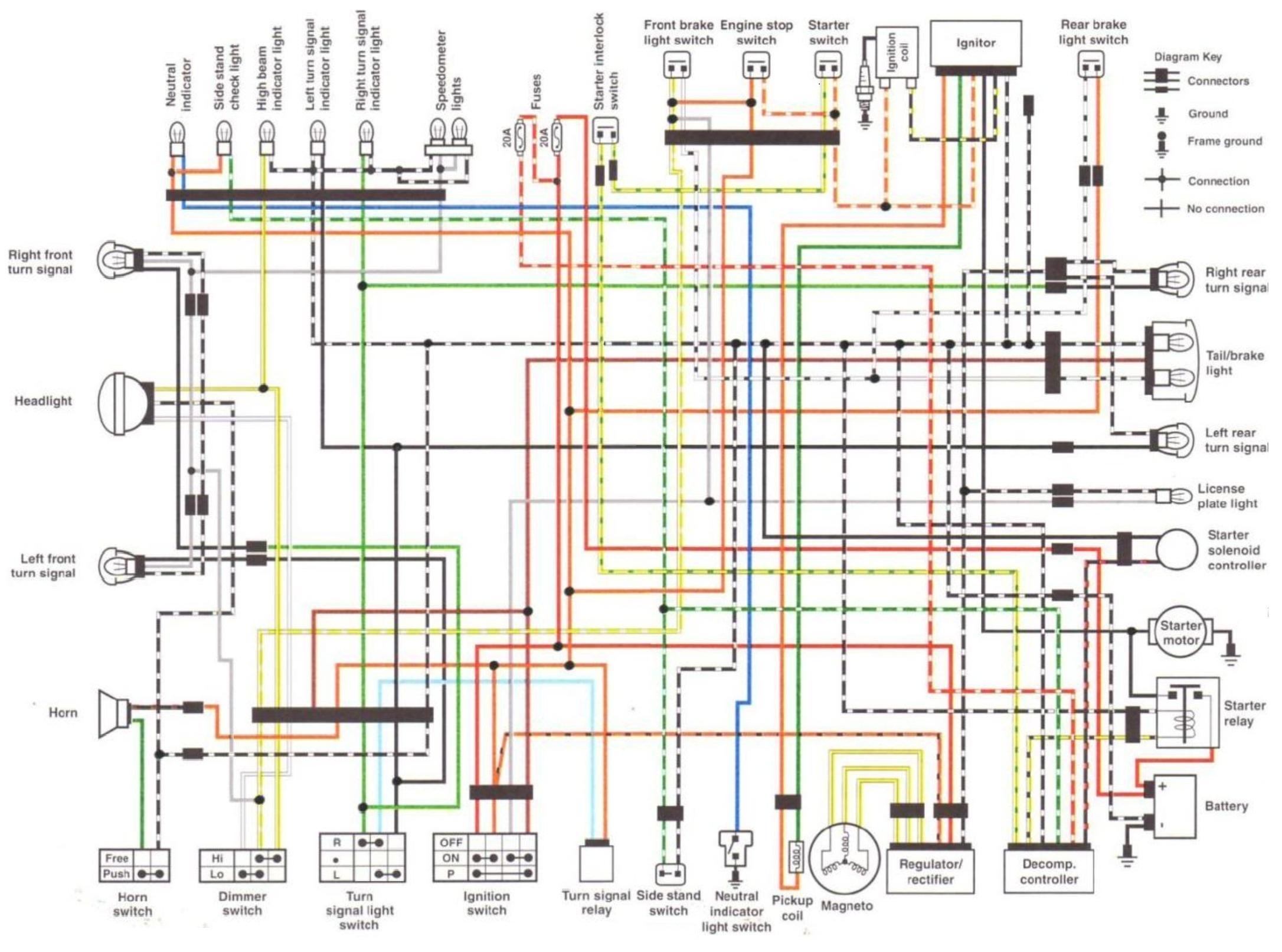 [WRG-7045] Suzuki Savage Wiring Diagram Free