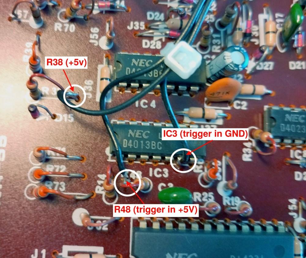 medium resolution of korg rhythm 55 trigger in modification