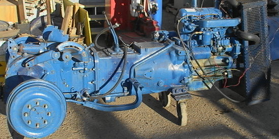 Ford 2600 Tractor Wiring Diagram Ford 3000 3 Cylinder Diesel Tractor Engine Amp Frame 3000