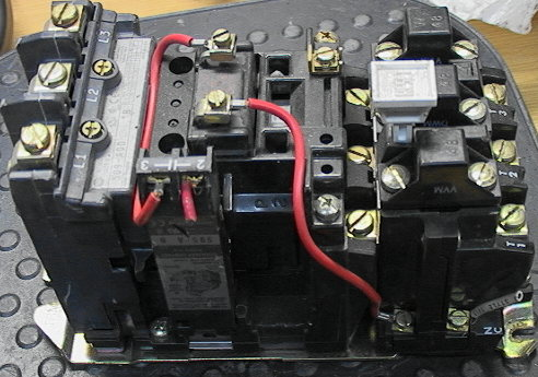 allen bradley motor starter wiring diagram 2001 chevy cavalier radio ab 509-aod contactor relay + heaters s-0 [595-a] - $125.00 : cavlon online store