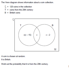 Word Problems Involving Venn Diagram Jaguar X Type Can Bus Wiring Diagrams Algebra And The New Gcse Cavmaths Image