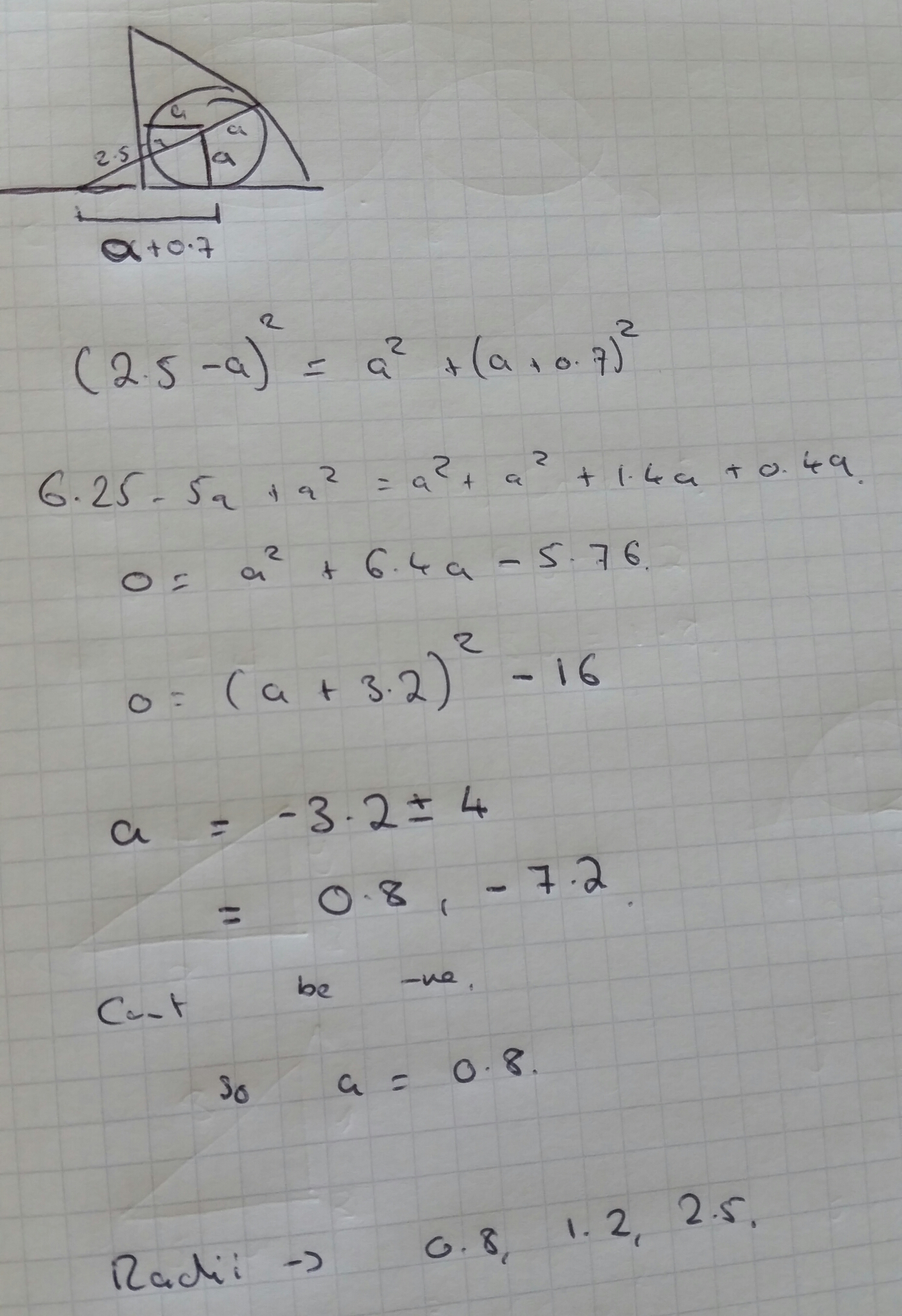 Circle Theorems Exam Questions Web Maths Answers
