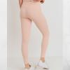 Essential Lycra-Blend Highwaist Leggings - Cover