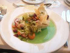 lunch at hotel Radisson