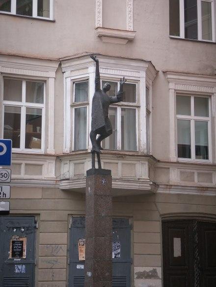Statue in Vilnius