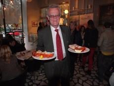 Björn Eriksson med hummer
