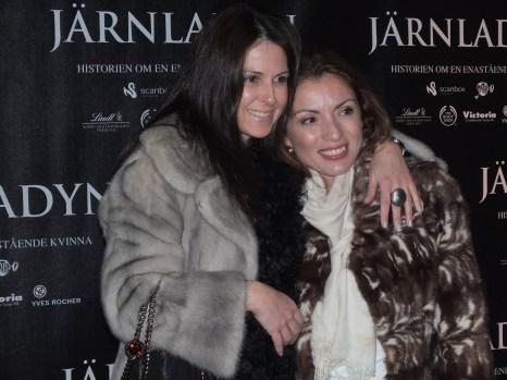 Alexandra Pascalidou med vän