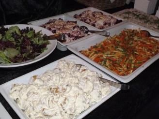 Maten på efterfesten
